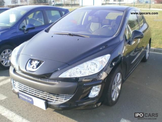 2008 peugeot 308 1 6 hdi90 premium 3p car photo and specs. Black Bedroom Furniture Sets. Home Design Ideas