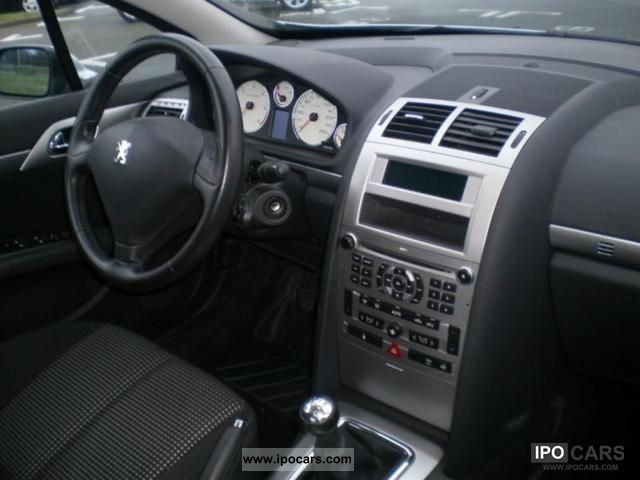 2008 peugeot 407 1 6 hdi110 premium fap car photo and specs for Interieur 407