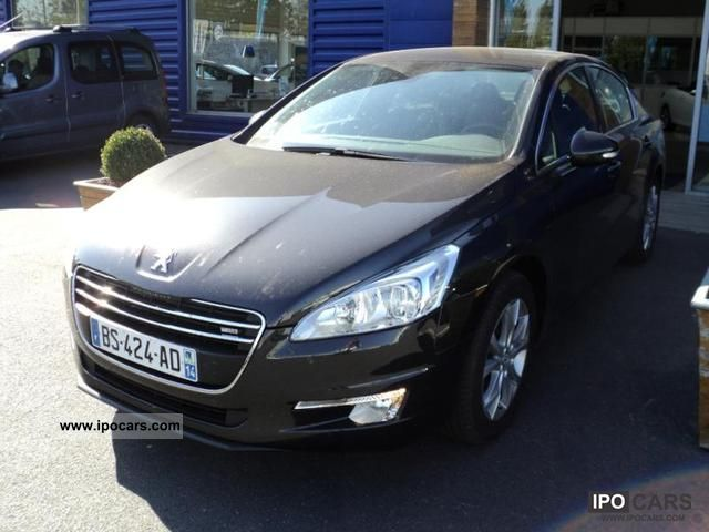 2011 Peugeot  1.6 e-508 HDi FAP BMP6 Allure Limousine Used vehicle photo