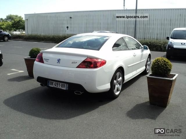 2011 peugeot 407 coupe 3 0 v6 hdi gt car photo and specs. Black Bedroom Furniture Sets. Home Design Ideas
