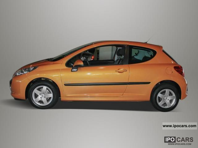 2008 peugeot 207 urban move 75 air aluminum rims car photo and specs. Black Bedroom Furniture Sets. Home Design Ideas