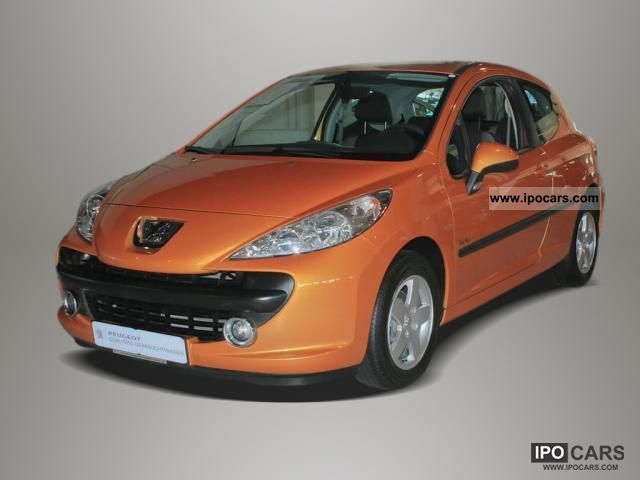 2008 peugeot 207 urban move 75 air aluminum rims car. Black Bedroom Furniture Sets. Home Design Ideas