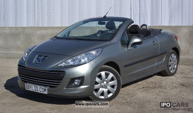 2011 peugeot 207 cc coupe cabriolet 1 6 hdi 112 cv car photo and specs. Black Bedroom Furniture Sets. Home Design Ideas