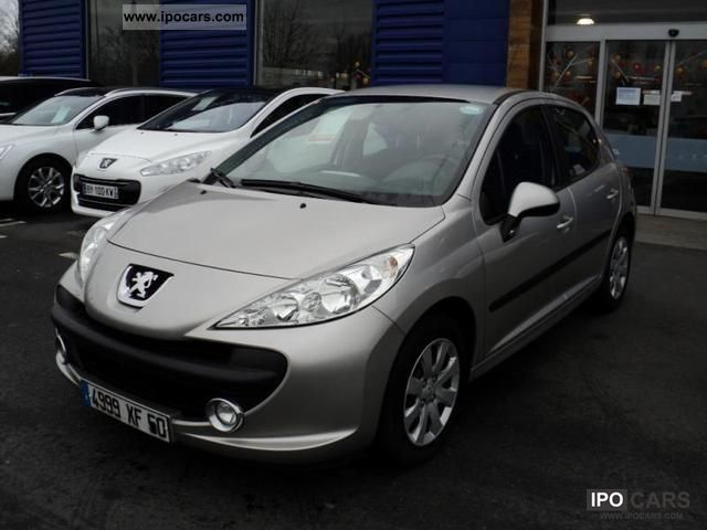 2008 peugeot 207 1 6 hdi90 premium 5p car photo and specs. Black Bedroom Furniture Sets. Home Design Ideas