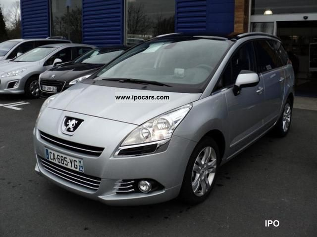 2012 peugeot 5008 2 0 hdi premium pack 7pl car photo and specs. Black Bedroom Furniture Sets. Home Design Ideas
