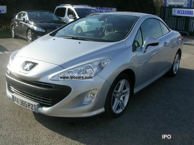 2010 peugeot 308 cc 2 0 hdi140 fap f line car photo and specs. Black Bedroom Furniture Sets. Home Design Ideas