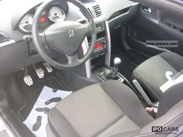 2009 peugeot 207 1 6 hdi110 sports pack fap car photo and specs
