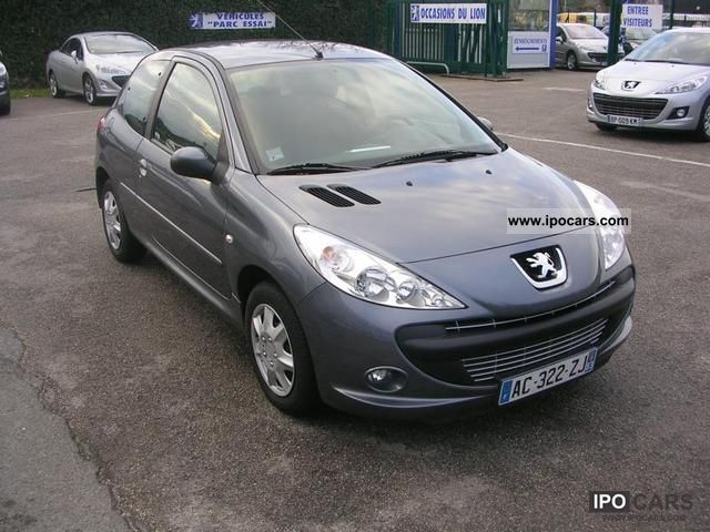 2009 peugeot 206 1 4 hdi trendy 3p car photo and specs. Black Bedroom Furniture Sets. Home Design Ideas