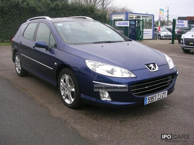 2008 Peugeot 407 SW 2.2 HDi 16v Premium Pack FAP - Car Photo and Specs