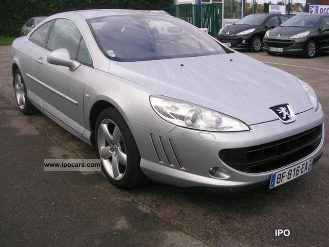 2010 peugeot 407 coupe 2 0 hdi fap 163ch navteq car photo and specs. Black Bedroom Furniture Sets. Home Design Ideas