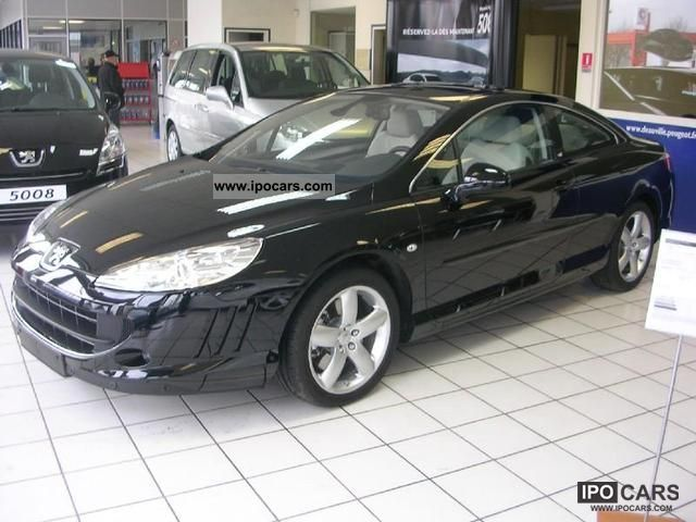 2009 peugeot 407 coupe 3 0 v6 hdi gt car photo and specs. Black Bedroom Furniture Sets. Home Design Ideas