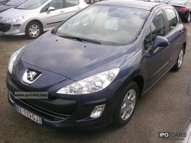 2008 peugeot 308 1 6 confort hdi90 fap 5p car photo and specs. Black Bedroom Furniture Sets. Home Design Ideas