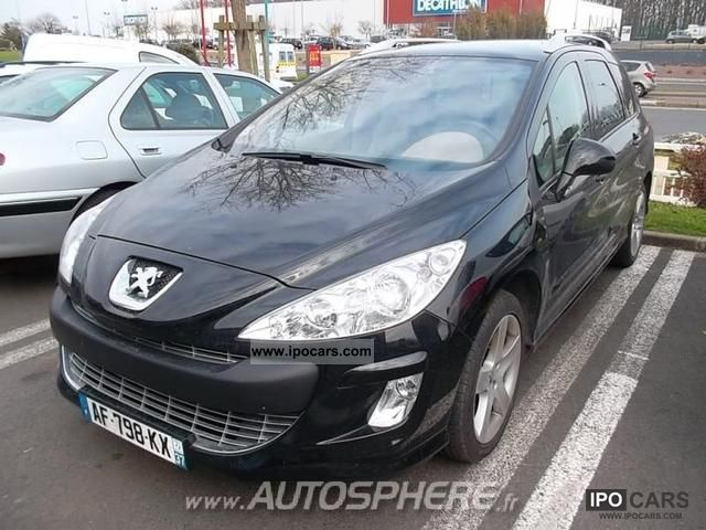 2009 peugeot 308 sw 1 6 hdi110 fap f line car photo and specs. Black Bedroom Furniture Sets. Home Design Ideas