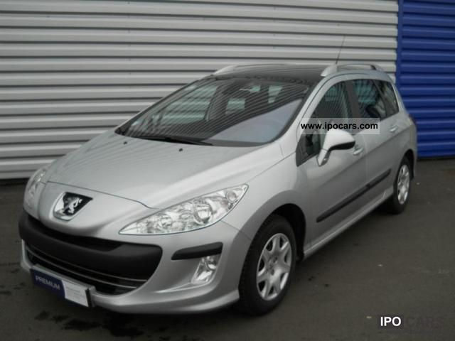 2009 peugeot 308 sw 1 6 confort pack hdi90 car photo and specs. Black Bedroom Furniture Sets. Home Design Ideas