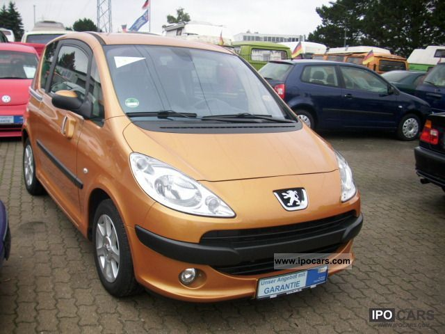 2006 Peugeot  1007 HDi 70 Premium 1.Hand/65TKM / climate control Estate Car Used vehicle photo