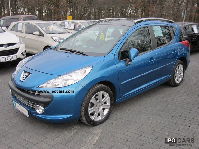 2009 peugeot 207 sw 1 6 16v vti sport automatic car photo and specs. Black Bedroom Furniture Sets. Home Design Ideas