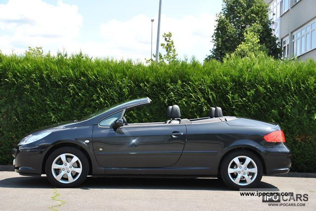 2006 peugeot 307 cc hdi fap 135 jbl convertible coupe car photo and specs. Black Bedroom Furniture Sets. Home Design Ideas