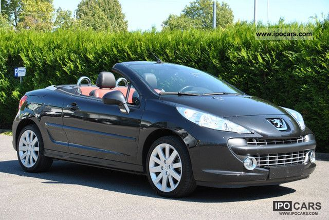 2008 peugeot 207 cc 120 vti platinum convertible coupe car photo and specs. Black Bedroom Furniture Sets. Home Design Ideas