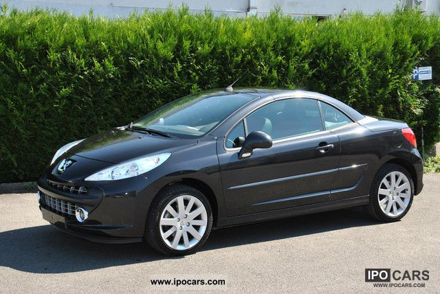 2008 Peugeot 207 Cc 120 Vti Platinum Convertible Coupe