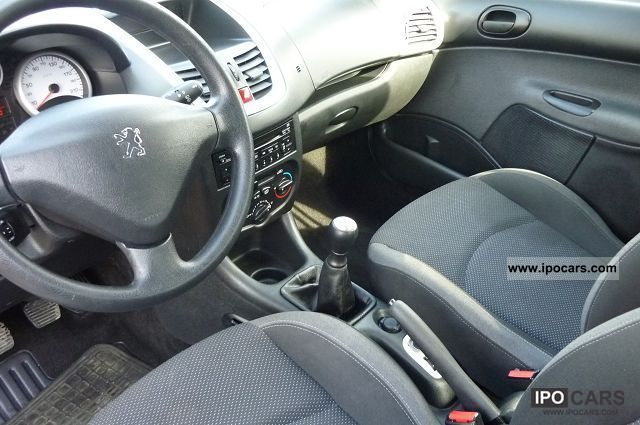 2010 peugeot 206 1 4 hdi trendy 3p car photo and specs. Black Bedroom Furniture Sets. Home Design Ideas