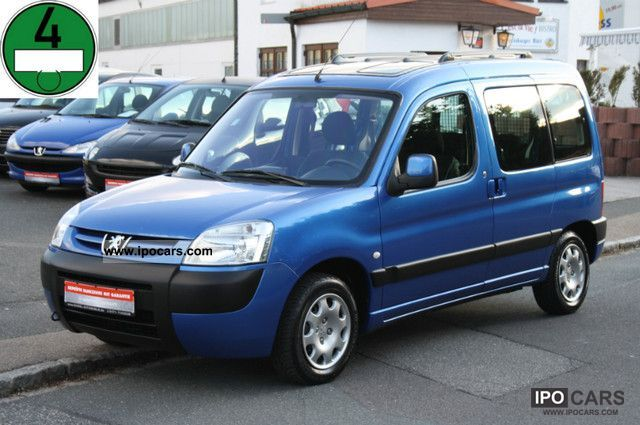 2003 Peugeot  Partners combined 75 Grand Filou Cool KLIMA/EURO3 + D4 Estate Car Used vehicle photo