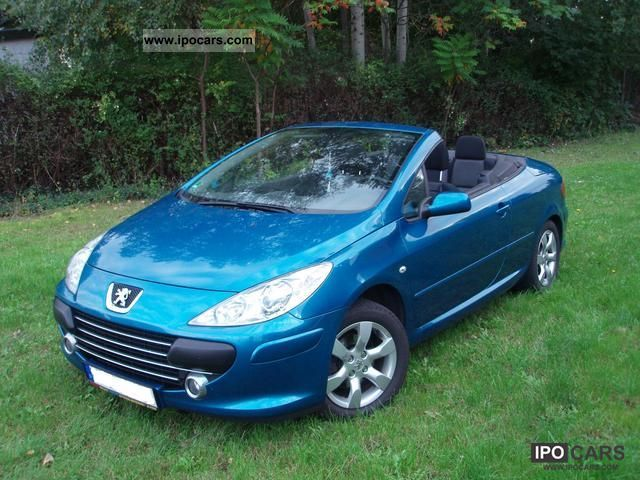 2006 Peugeot 307 Cc 110 Filou Car Photo And Specs
