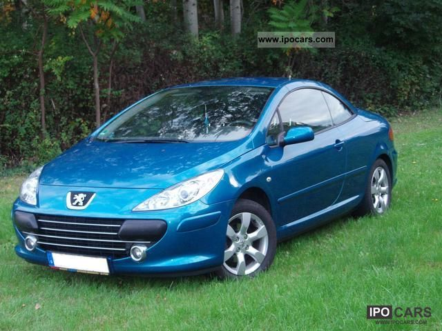 2006 peugeot 307 cc 110 filou car photo and specs. Black Bedroom Furniture Sets. Home Design Ideas