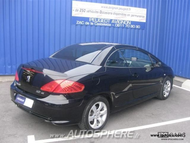 2008 peugeot 307 cc 2 0 hdi136 navteq fap car photo and. Black Bedroom Furniture Sets. Home Design Ideas