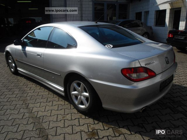 1998 peugeot 406 coupe 2 0 16v premium apc leather cruise control car photo and specs. Black Bedroom Furniture Sets. Home Design Ideas