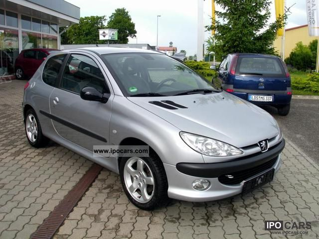 2000 peugeot 206 2 0 16v car photo and specs. Black Bedroom Furniture Sets. Home Design Ideas