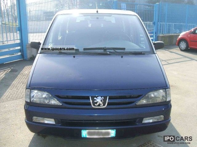 2000 peugeot dt 806 sr hdi 7 posti car photo and specs. Black Bedroom Furniture Sets. Home Design Ideas
