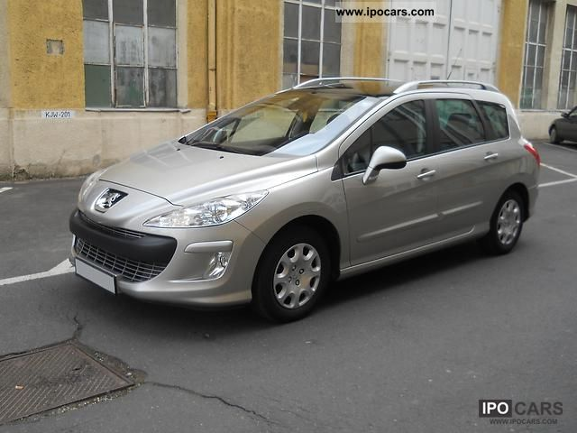 2009 peugeot 308 sw hdi fap 110 filou car photo and specs. Black Bedroom Furniture Sets. Home Design Ideas