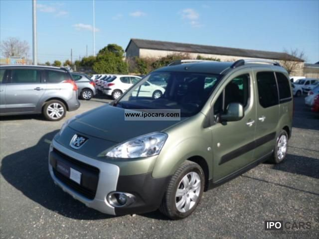2009 Peugeot  Partner tepee outdoor HDi90 06.01 Estate Car Used vehicle photo