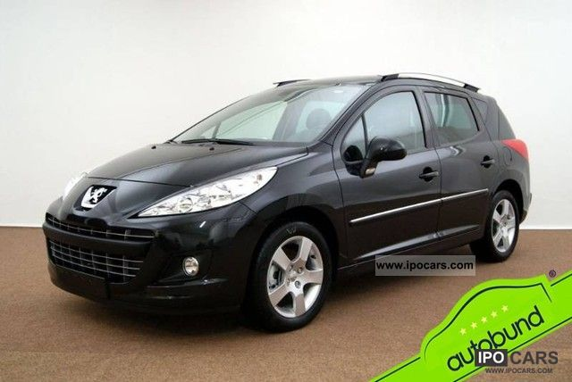 2011 peugeot 207 1 6 hdi fap facelift family panoramic roof car photo and specs. Black Bedroom Furniture Sets. Home Design Ideas