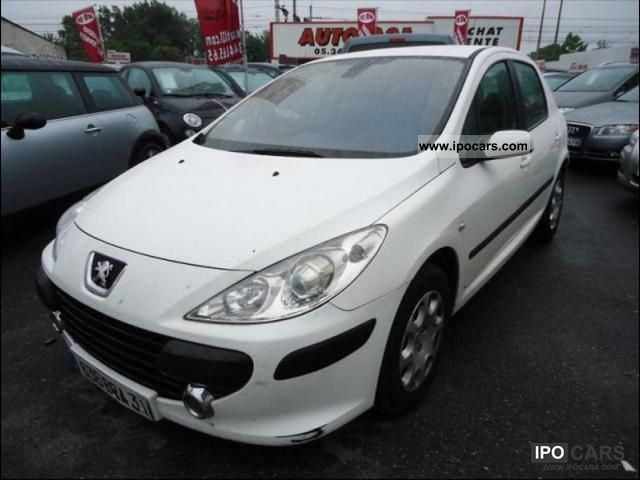 2006 peugeot 307 1 6 hdi 16v 90 comfort pack 5p car photo and specs. Black Bedroom Furniture Sets. Home Design Ideas