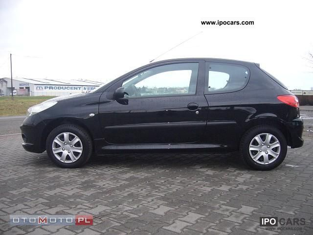 2009 peugeot 206 car photo and specs. Black Bedroom Furniture Sets. Home Design Ideas