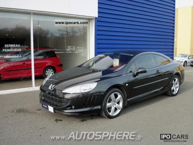 2006 peugeot 407 coupe 2 7 v6 hdi fap handles baa car photo and specs. Black Bedroom Furniture Sets. Home Design Ideas