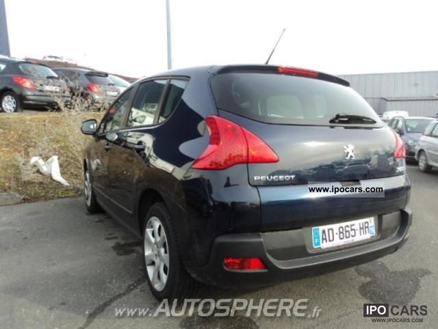 2009 peugeot 3008 1 6 hdi110 fap confort pack car photo and specs. Black Bedroom Furniture Sets. Home Design Ideas