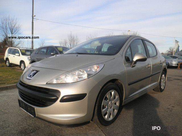 2008 peugeot 207 1 4 hdi car photo and specs. Black Bedroom Furniture Sets. Home Design Ideas