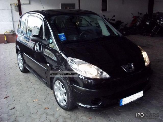 2005 Peugeot  1007 * HDi70 * rogue * EURO * 4 + HU AU 9/2013 * Black * ESP Estate Car Used vehicle photo