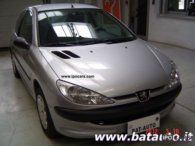 206 1.4 Hdi 2004 2004 Peugeot 206 1.4 Hdi 3p