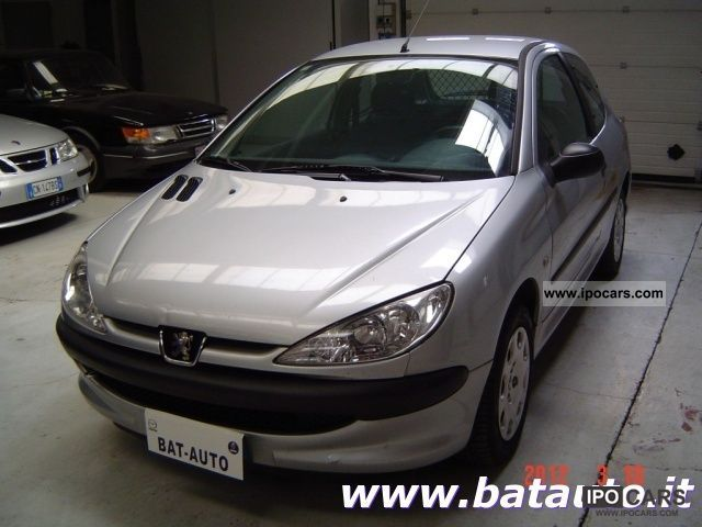 2004 peugeot 206 1 4 hdi 3p xad van autocarro car photo and specs. Black Bedroom Furniture Sets. Home Design Ideas