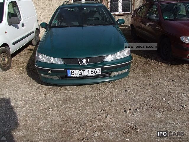 2001 peugeot 406 break hdi car photo and specs. Black Bedroom Furniture Sets. Home Design Ideas