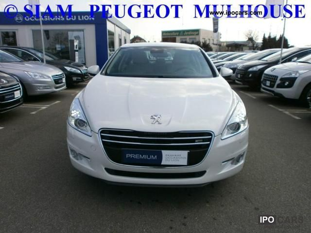 2010 peugeot 1 6 e 508 hdi fap bmp6 allure car photo and specs. Black Bedroom Furniture Sets. Home Design Ideas