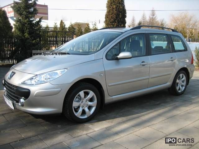2007 Peugeot  307 2008, Krajowy, 1WŁAŚC., STAN IDEAL Estate Car Used vehicle photo