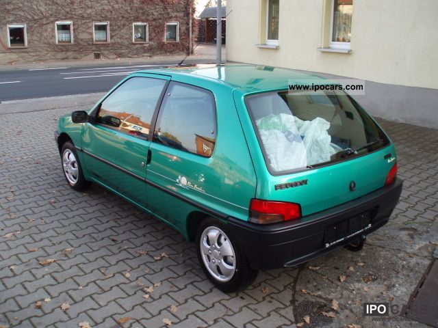 1993 Peugeot 106 1 0 Car Photo And Specs border=