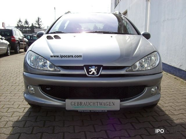 2004 peugeot 206 sw hdi 90 tendance air car photo and specs. Black Bedroom Furniture Sets. Home Design Ideas
