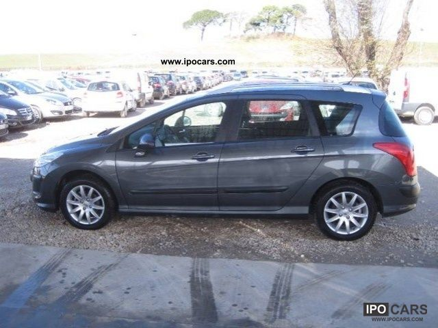 2009 peugeot 308 sw 1 6 16v hdi 2008 ciel premium 110c car photo and specs. Black Bedroom Furniture Sets. Home Design Ideas