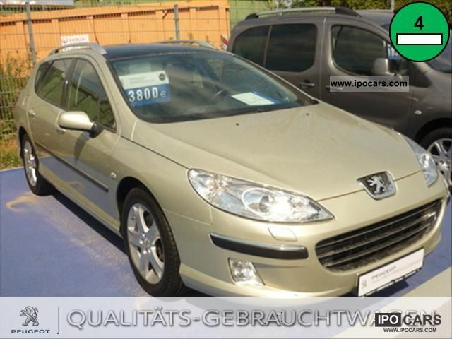 2007 Peugeot 407 SW 2.2 HDi FAP Turbo Bi-Bu Estate Car Used vehicle ...
