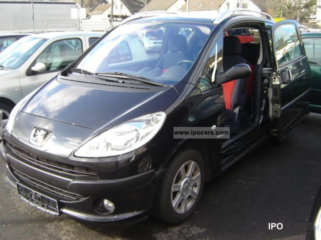 2005 peugeot 1007 hdi 70 klimatronic 1 hand euro4 cat car photo and specs. Black Bedroom Furniture Sets. Home Design Ideas